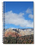 Behold The Blue Sky Spiral Notebook