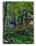 Beijing Gardens Spiral Notebook