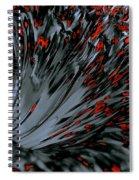 Being Drawn In Spiral Notebook