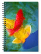 Being Koi Too Spiral Notebook