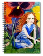 Tiny Flower Fairy Spiral Notebook