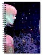 Bejeweled Blondes Spiral Notebook