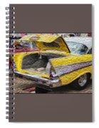 Bel Air Boot Spiral Notebook