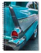 Bel Air Tail Fin Spiral Notebook