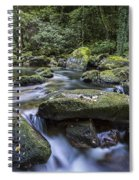 Belelle River Neda Galicia Spain Spiral Notebook