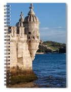 Belem Tower Fortification On The Tagus River Spiral Notebook