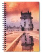 Belem Tower Spiral Notebook
