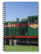 Belfast And Moosehead Lake Railroad Maine Img 6151 Spiral Notebook