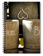 Believe In Love - Photography By William Patrick And Sharon Cummings Spiral Notebook