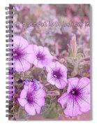 Believe In Tomorrow Spiral Notebook