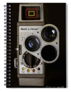Bell And Howell 333 Movie Camera Spiral Notebook