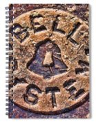 Bell Medallion Spiral Notebook