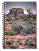Bell Rock At Dusk Spiral Notebook