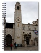 Bell Tower At Luza Square Spiral Notebook