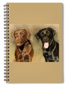 Bella And Sophie Spiral Notebook