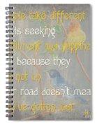 Bella Bird 1 Spiral Notebook