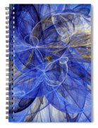 Bella Blue Spiral Notebook