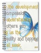 Bella Butterflies 1 Spiral Notebook