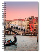 La Bella Canal Grande Spiral Notebook