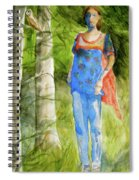 Bella Emerges Spiral Notebook