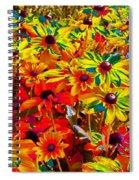 Bella Flora Painting Spiral Notebook