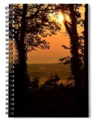 Bella Vista Sunset 2 Spiral Notebook