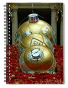 Bellagio Christmas Ornaments Spiral Notebook