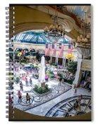 Bellagio Conservatory And Botanical Gardens Spiral Notebook