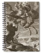 Bellerophon Fights The Chimaera, 1731 Spiral Notebook