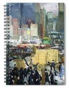 Bellows' New York Spiral Notebook
