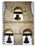 Bells Of Mission San Diego Spiral Notebook