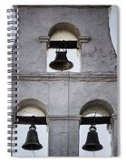Bells Of Mission San Diego Too Spiral Notebook