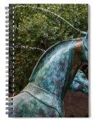 Belmond Charleston Place Horse Fountain Spiral Notebook