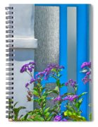 Belmont Shore Blue Spiral Notebook