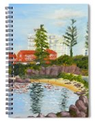 Belmore Basin From The North Sea Wall Spiral Notebook