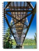 Below A Bridge Spiral Notebook
