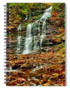 Below Ganoga Falls Spiral Notebook