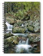 Below Mina Sauk Falls 1 Spiral Notebook