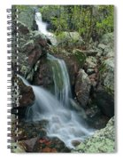Below Mina Sauk Falls 4 On Taum Sauk Mountain Spiral Notebook