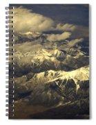 Below The Clouds Spiral Notebook