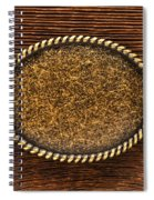 Belt Buckle Spiral Notebook