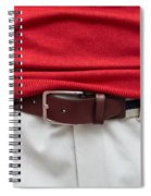 Belt  Spiral Notebook