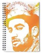 Ben Harper Pop Art Spiral Notebook