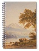 Ben Vorlich And Loch Lomond Spiral Notebook