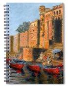 Benaras Ghats Spiral Notebook