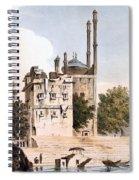 Benares On The Ganges Spiral Notebook
