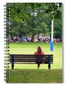Bench Thoughts Spiral Notebook