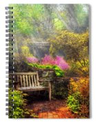 Bench - Tranquility II Spiral Notebook