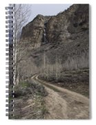 Bend In The Road - Waterfalls Spiral Notebook