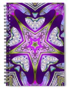 Bending Time Spiral Notebook